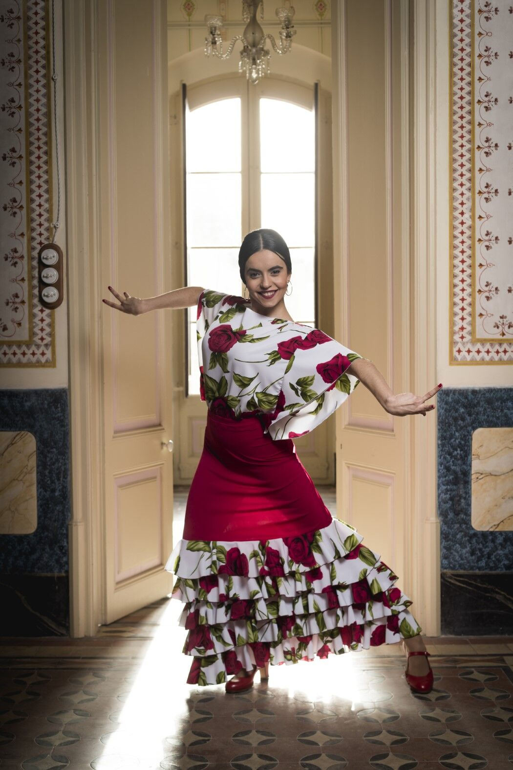 Flamenco Top Thun Davedans